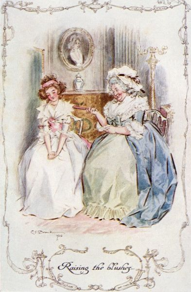 Marianne Dashwood blushes. Date: First published: 1811