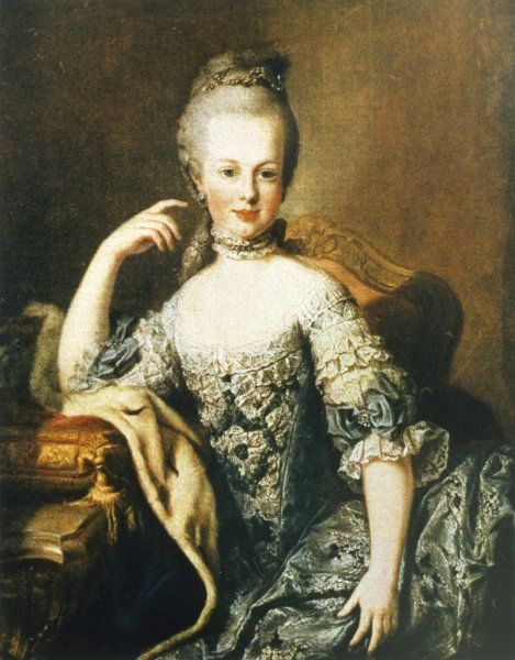MARIE ANTOINETTE Queen of France as a young woman