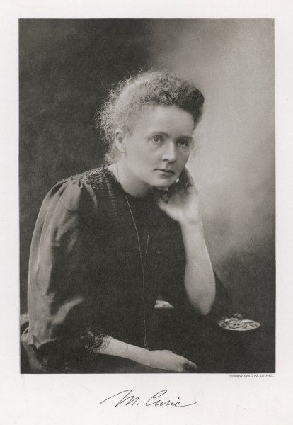 MARIE CURIE Polish scientist