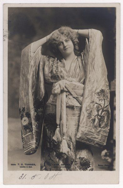 MARIE STUDHOLME Actress, in the role of 'The Geisha&#39