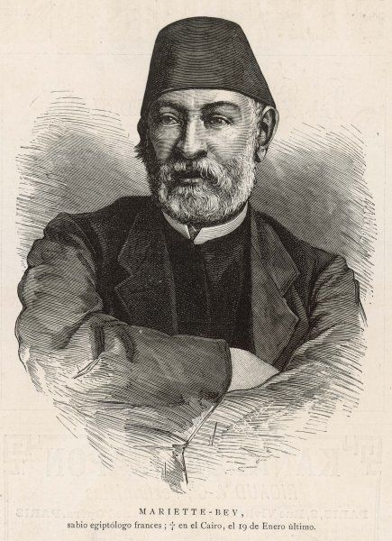 AUGUSTE-FERDINAND-FRANCOIS MARIETTE French archaeologist and Egyptologist