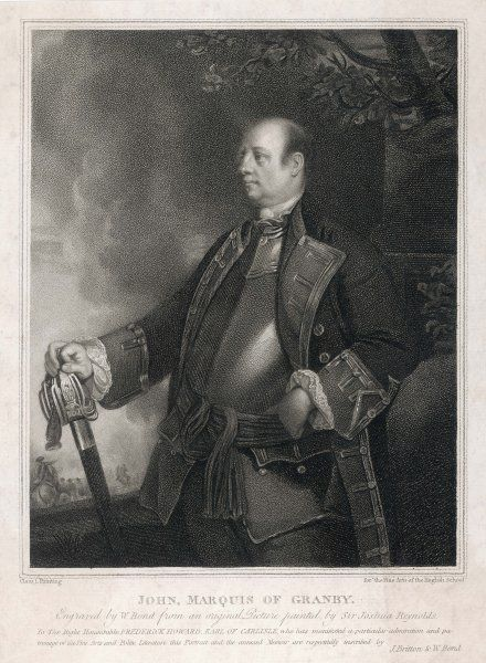John Manners, marquis of GRANBY military commander