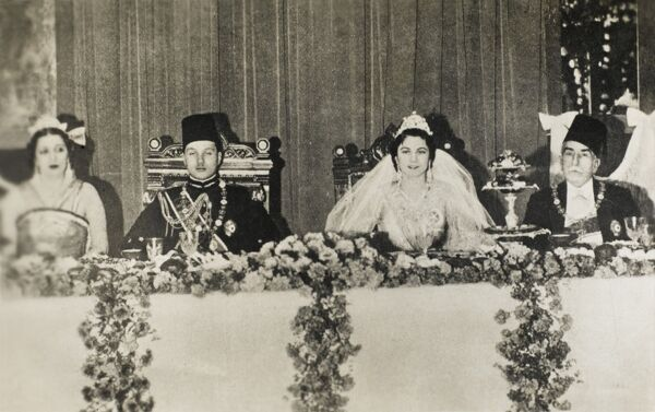 Farouk I of Egypt (1920 - 1965), was the tenth ruler from the Muhammad Ali Dynasty and the penultimate King of Egypt and Sudan, succeeding his father, Fuad I, in 1936