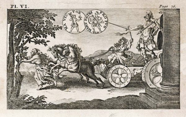 Mars on his chariot