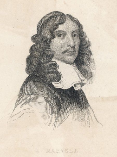 ANDREW MARVELL English poet and MP
