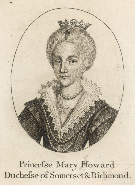 Mary Howard, duchess of Richmond and Somerset, wife of Henry Fitzroy, duke