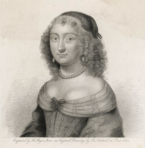 MARY EVELYN nee BROWNE Wife of JOHN EVELYN, diarist, and daughter of Sir Richard Browne, ambassador