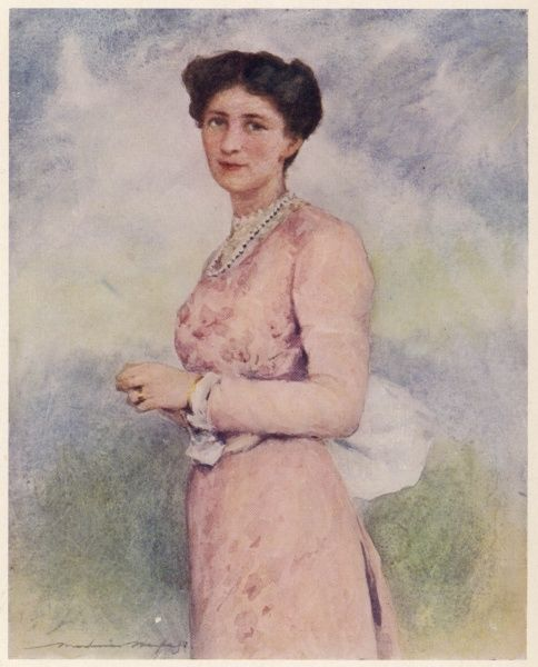 MARY VICTORIA (nee Leiter), marchioness CURZON, wife of George, Viceroy of India. Daughter of an American millionaire, she was a great support in his career