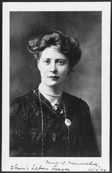 MARY MACARTHUR of the Women's Labour League