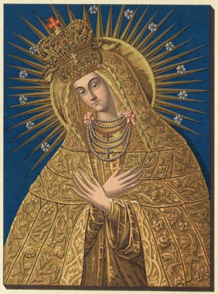 depicted as Our lady of Ostrabrama
