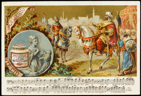 Act four, 10th tableau : The confrontation between El Cid and Boabdil, king of the Moors