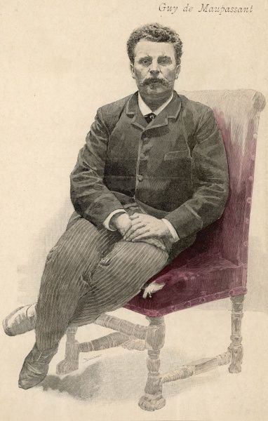Guy de Maupassant French writer Date: 1850 - 1893