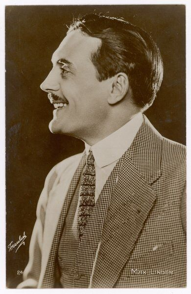 MAX LINDER French comedian of silent films, most of which he scripted and directed himself