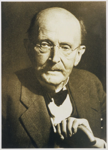 MAX KARL ERNST LUDWIG PLANCK German physicist and Nobel prizewinner (1918) in later life