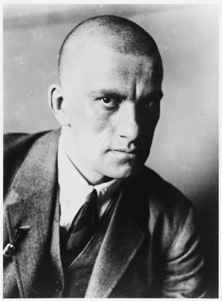 VLADIMIR MAYAKOVSKY - Russian poet and supporter of the Communist party in Russia (this photograph is dated 1927)