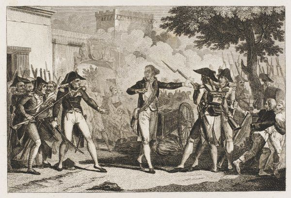 When two regiments stationed at Aix-en-Provence come to blows, mayor Jean Espariat brings them to their senses by saying if you must shoot anyone, shoot me !