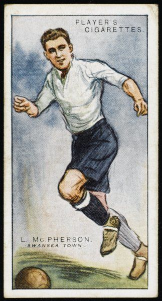 L McPherson, player for Swansea Town