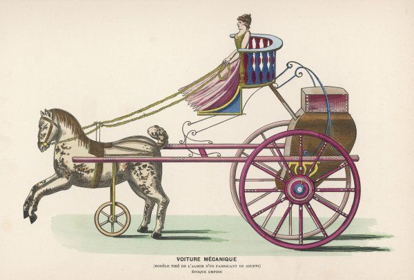 A French mechanical carriage