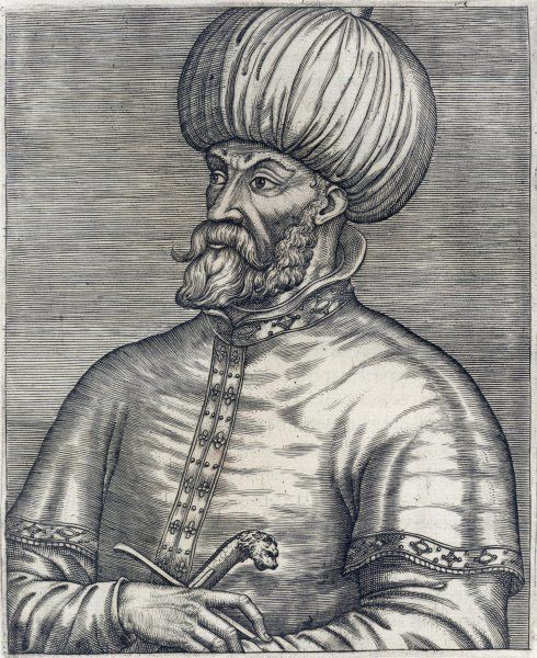MEHMED II called FATIH (The Conqueror) Ottoman Sultan (1444-46, 1451-81) - considered the true founder of the Ottoman Empire