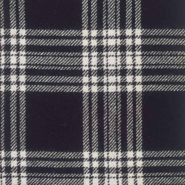 The Menzies clan tartan, Scotland. Date: photo taken 1971
