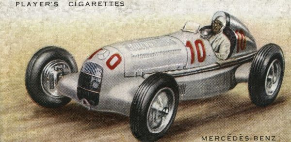 The most successful racing car of 1935. Date: 1936