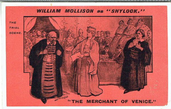 an analysis of shylocks trial in the merchant of venice by william shakespeare In the play 'the merchant of venice' written by william the merchant of venice, william shakespeare jessica is also uncomfortable and humiliated by shylocks.