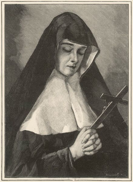 MERE ALIX LE CLERC (Mere Therese de Jesus) French founder of the Sisters of Notre Dame