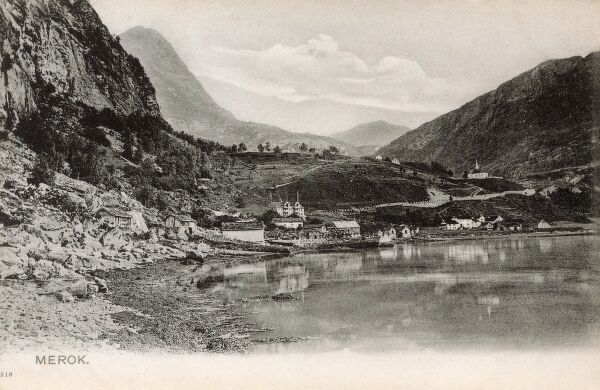Merok - Norway and the Geiranger Fjord. Date: circa 1910s