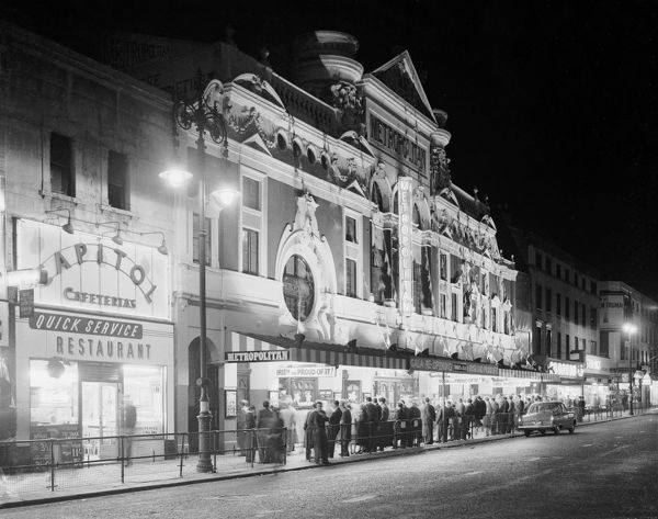 The Metropolitan Music Hall, 207 Edgware Road London - a very fine Music Hall which was sadly demolished in 1963 to allow the building of a flyover for the A40. Formerly an inn called the White Lion public house, the theatre was re-built in 1862