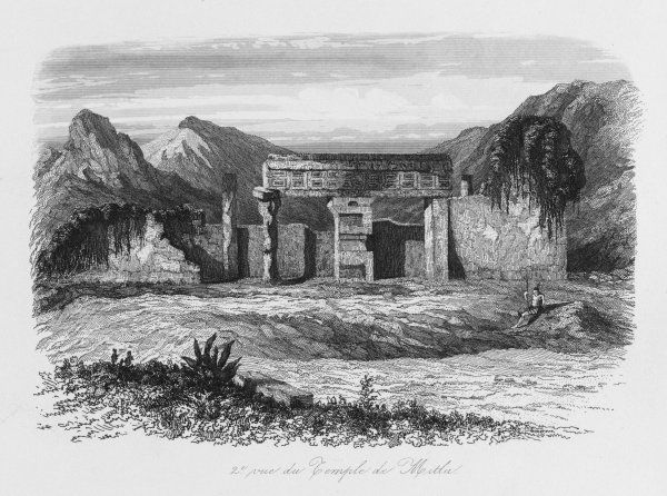 Zapotec temple (plate 2 of 2)