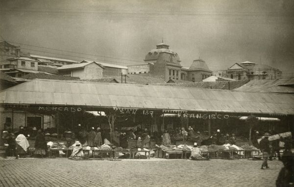 The Market at San Francisco (or San Pancho) in Mexico (not its better-known American counterpart!)