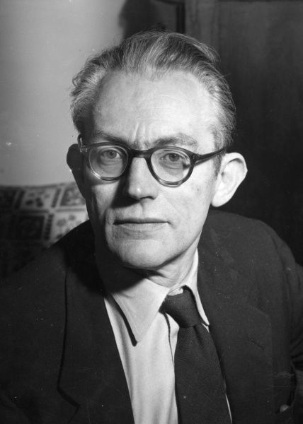 Michael Foot (1913-2010) British politician when he was the Labour Party candidate for Ebbw Vale, at the election caused by the death of Aneurin Bevan