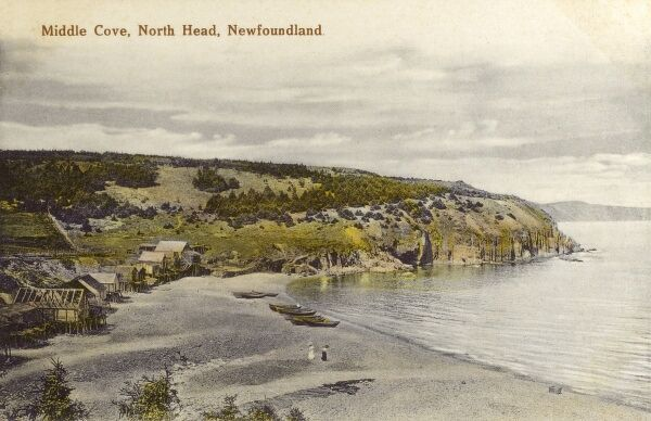 Middle Cove - North Head - Newfoundland and Labrador Date: circa 1910s
