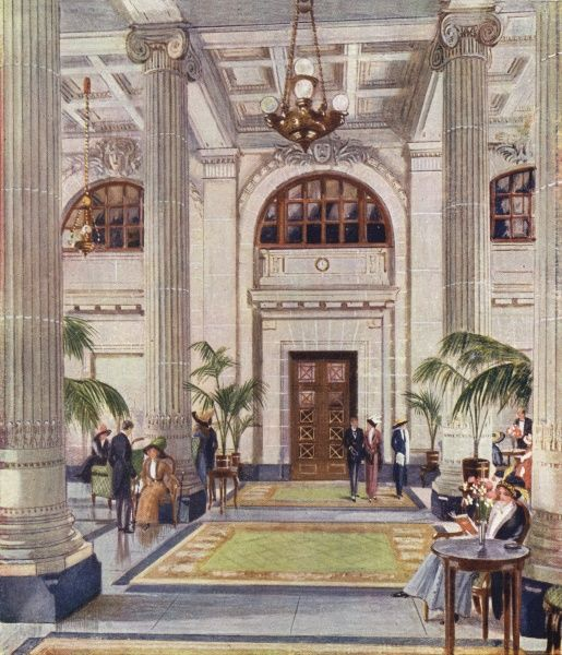 The New Midland Adelphi Hotel in Liverpool The Hypostyle Hall
