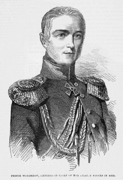 MIKHAIL SEMYONOVICH VORONTSOV Russian military and prince