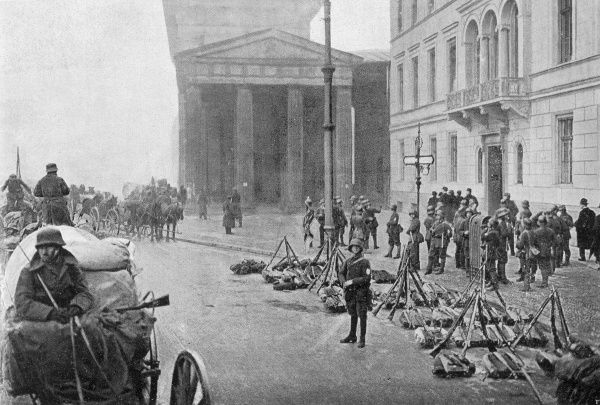 A military coup in the streets of Berlin