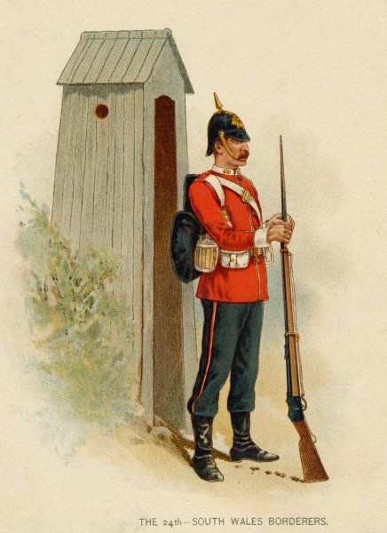A member of the 24th South Wales Borderers