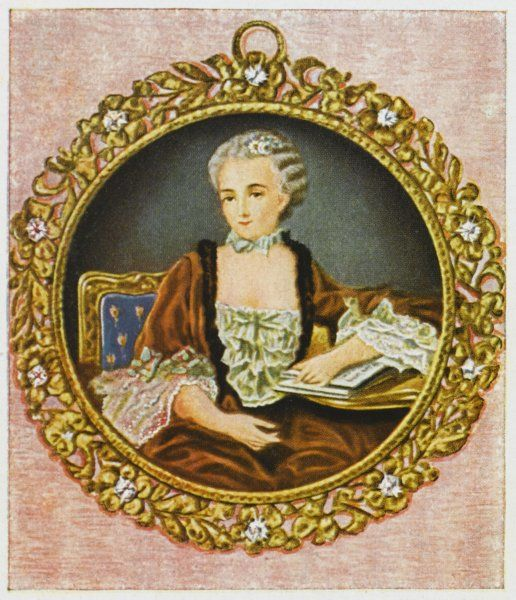 JEANNE-ANTOINETTE POISSON (MARQUISE DE POMPADOUR) Mistress to Louis XV of France