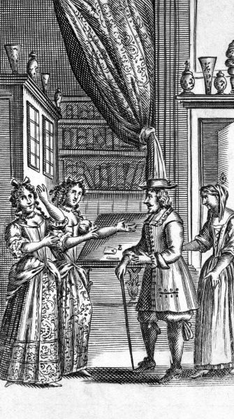 'LES FEMMES SAVANTES' Date: first performed 1672