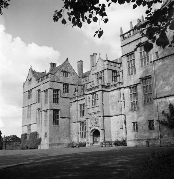 Montacute House, situated in the South Somerset village of Montacute