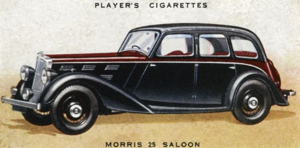 The largest of the Morris range of popular family saloons. Date: 1936