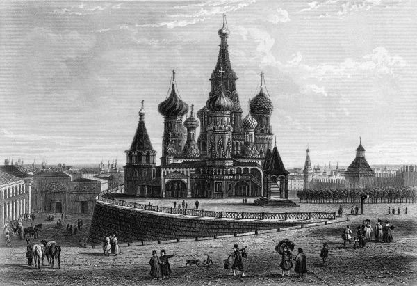Red Square and the cathedral of Saint Vasili