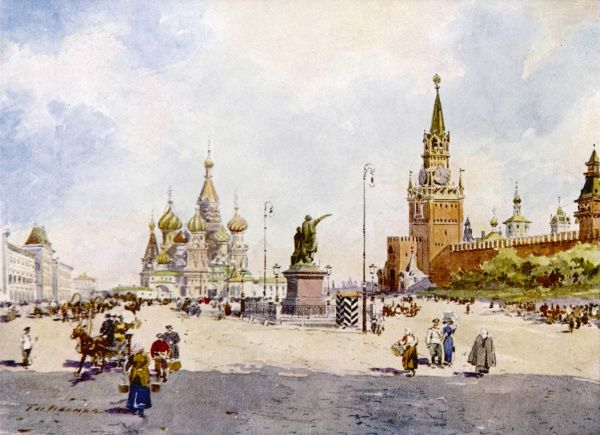 Moscow: Red Square