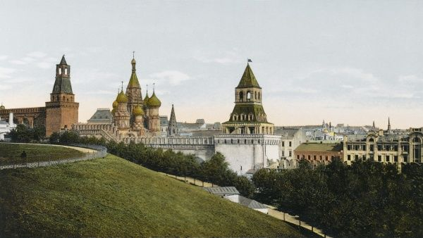 Moscow: general view from the Kremlin