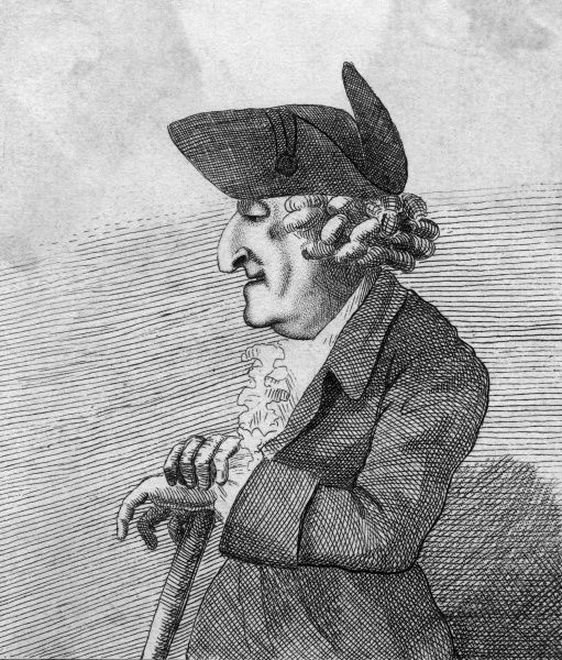 MR BLUNT I'd like to be able to tell you about this gent, but all the British Museum has to say is that he is an 'eccentric'. Possibly musical. Date: 18th century