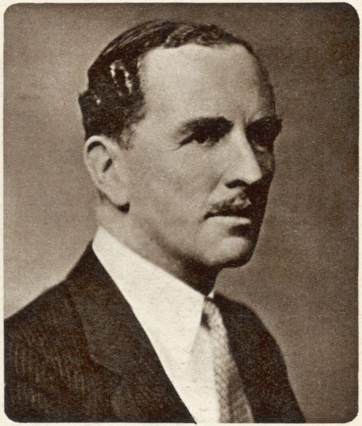 JAMES STUART as featured in the Illustrated London News on his appointment as a Companion of Honour to the new Conservative Cabinet in 1957. Two years later, he will be elevated to the peerage and known as Viscount Stuart of Findhorn