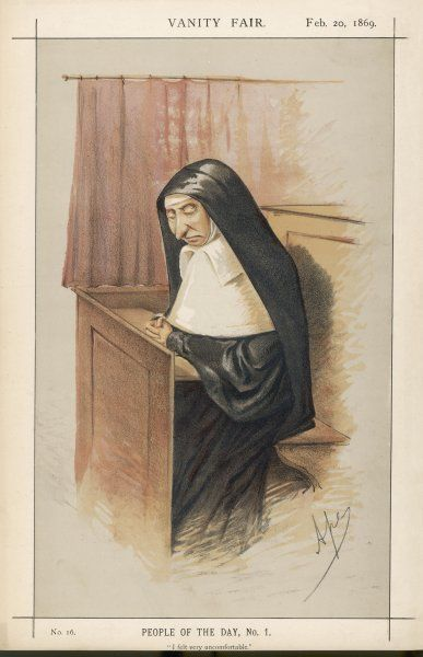 "Mrs Starr, Late Mother Superior of the Convent of Our Lady of Mercy at Hull: ""I felt very uncomfortable.&quot"
