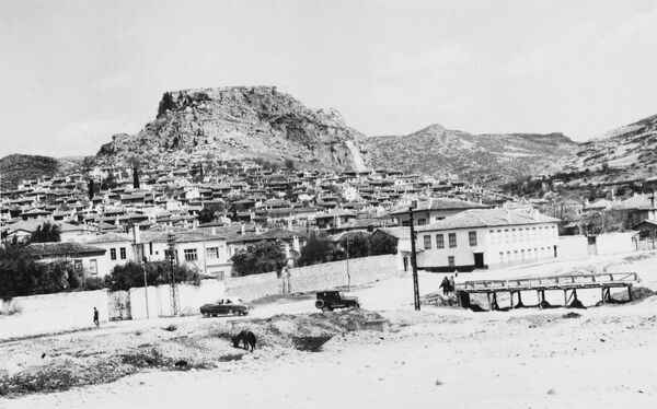 Mugla, Turkey - general view of the town and its setting