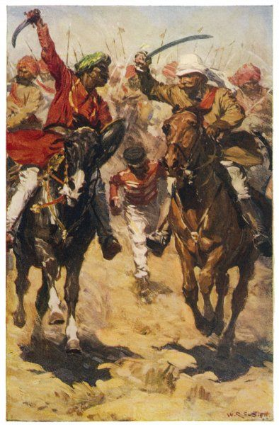 Battle of Rohtak : Hodson, commander of Hodson's Horse, takes Rohtak, 60km from Delhi, from a force of mutineers
