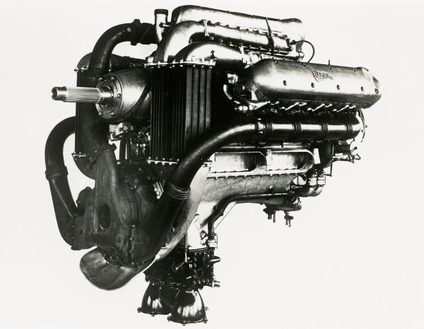 Napier Lion Series V E79, turbo-blown unit Date